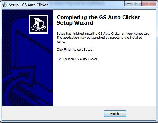 Hoàn thiện cài đặt Auto Click